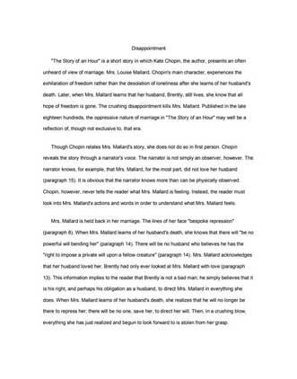 Literary Analytical Essay