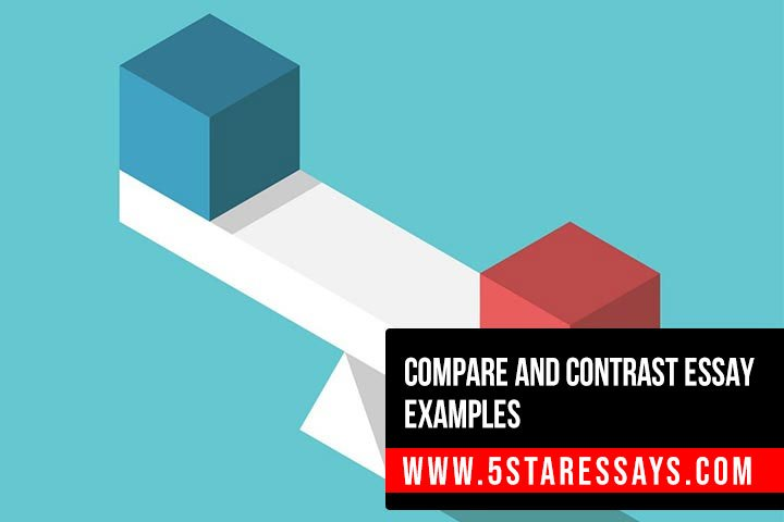 Compare and Contrast Essay Examples For Your Help