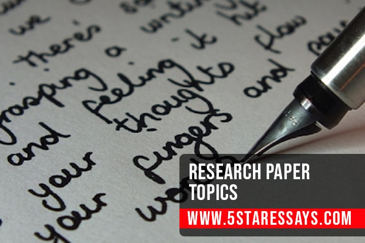 Research Paper Topics - 100+ Interesting  Ideas