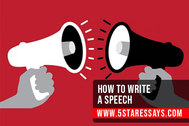How to Write a Speech - Outline With Example