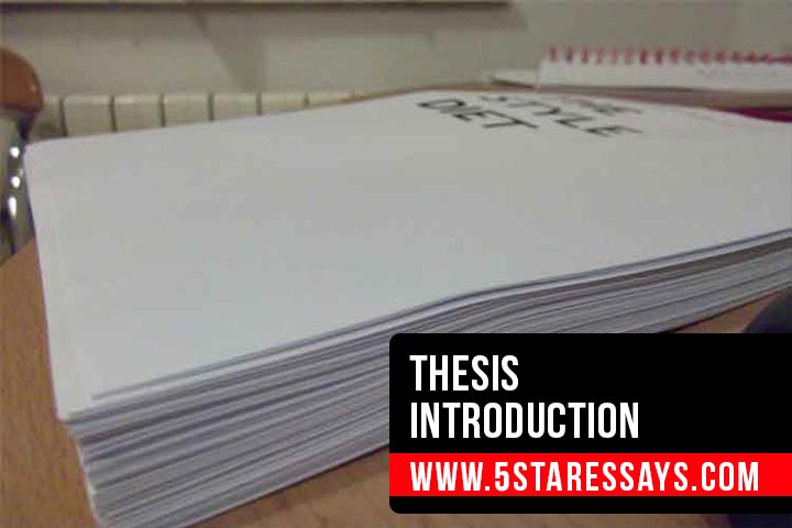 How to Write a Good Thesis Introduction - A Complete Guide