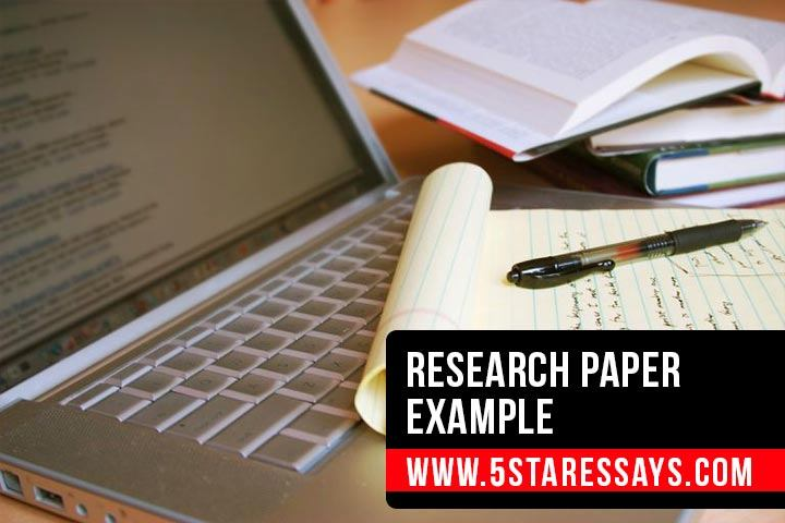 Research Paper Example: Samples to Write A Research Paper