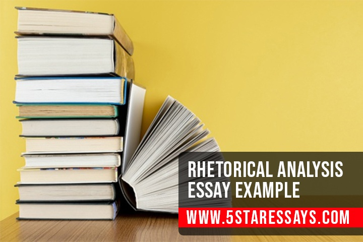 Rhetorical Analysis Essay Example - Samples By Experts