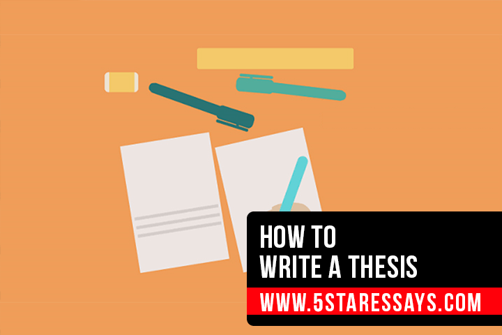 How To Write A Thesis - A Step by Step Guide